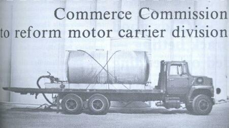 Commerce Commission To Reform Motor Carrier Division