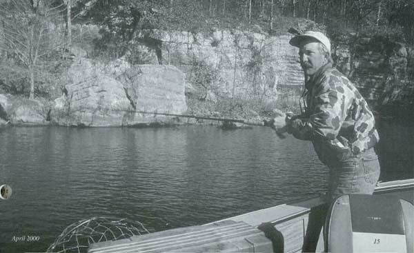 Muskie mania for Kinkaid lake fishing report
