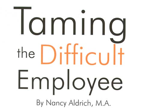 the difficult employee Challenging conversations and how to manage them get it wrong and the employee may go you can help make conversations with your employees less difficult by.