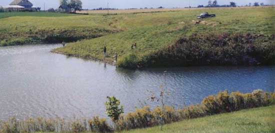 Just add water for Private fishing ponds near me