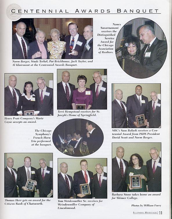 Barber Shop Aurora Il : listing of the 2003 Centennial Award winners: